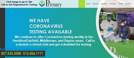 PRIMARY HEALTH SOLUTIONS COVID TESTING
