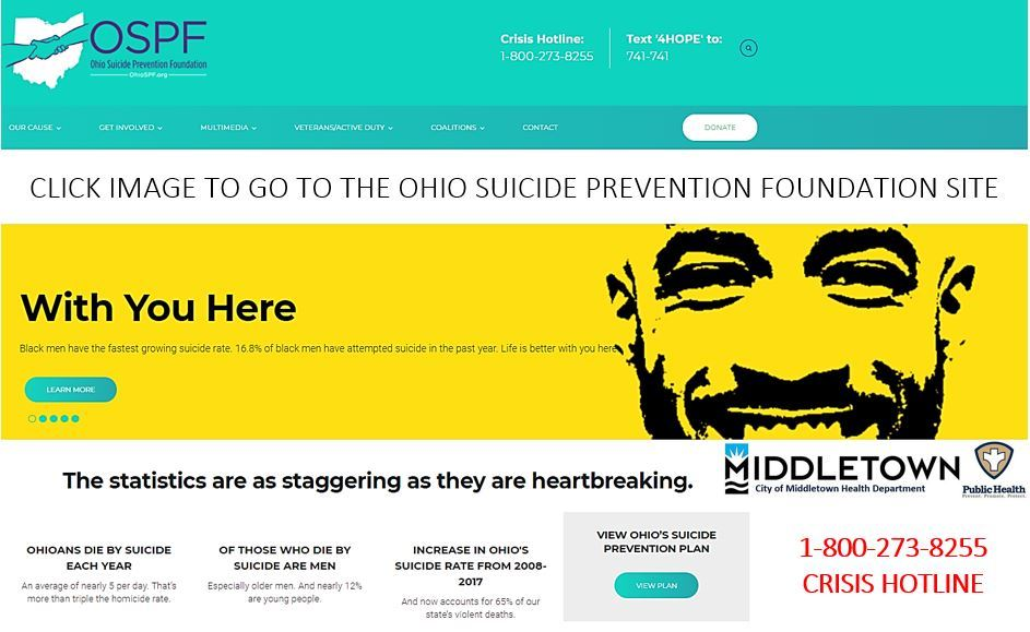 OHIO SUICIDE PREVENTION-OSPF 3.19.2021