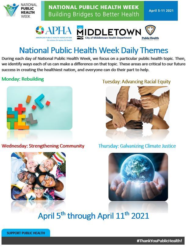 NATIONAL PUBLIC HEALTH WEEK PG 1