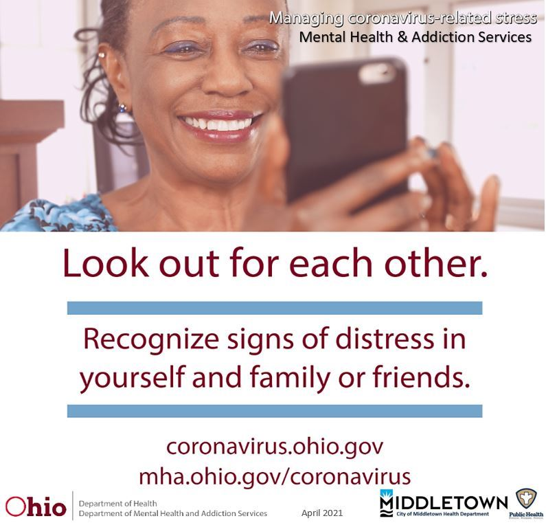 LOOK OUT FOR EACH OTHER-RECOGNIZE STRESS APRIL 2021