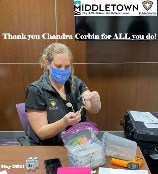 CHANDRA CORBIN THANK YOU MAY 2021